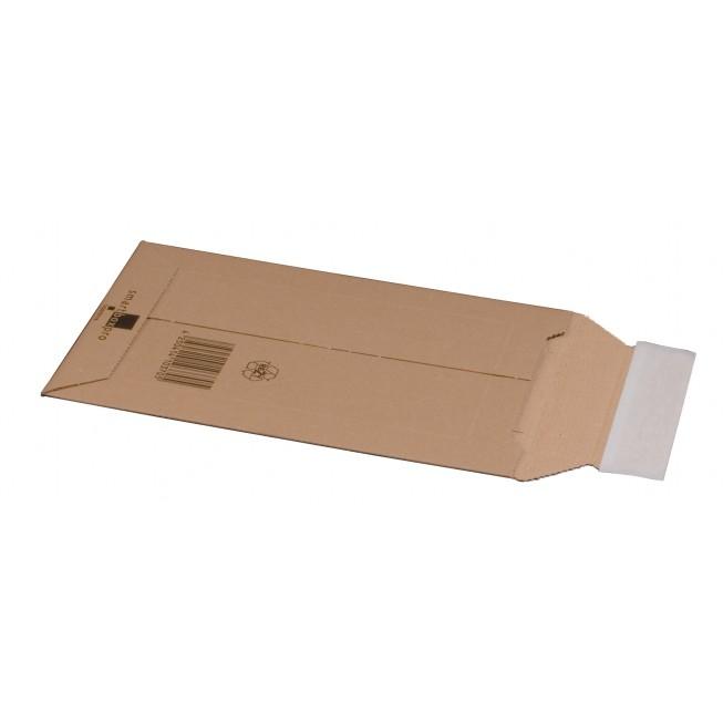 Versandtasche aus Wellpappe, DVD, 150 × 250 × 50 mm