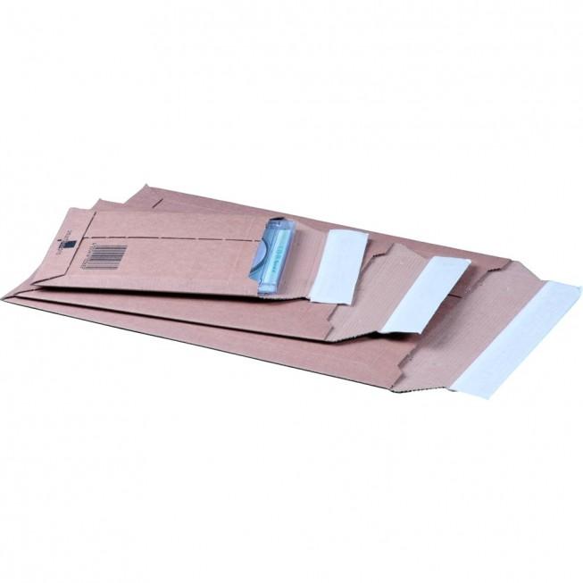 Versandtasche aus Wellpappe, C4+, 248 × 340 × 50 mm