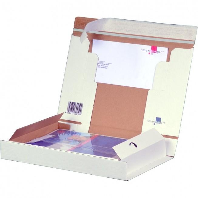 PACKBOX A4 weiß, 298 × 215 × 43 mm