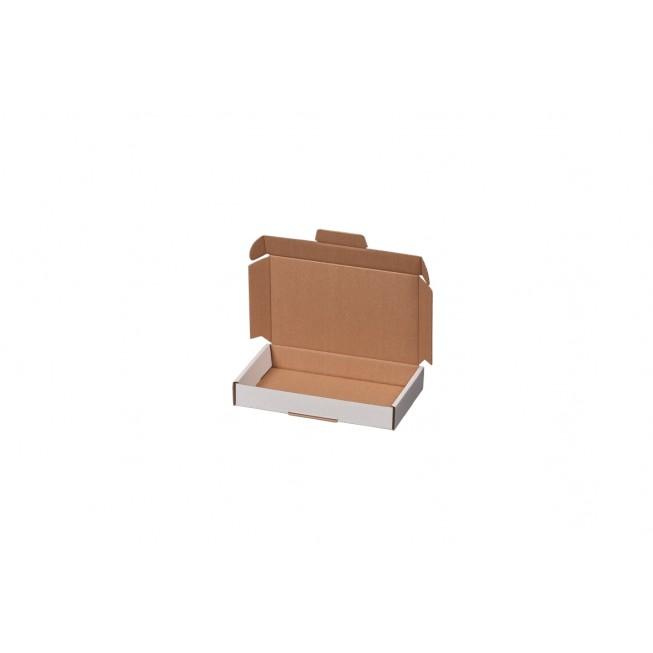 Maxibriefkarton weiß Größe 2 für 225 × 155 × 45 mm