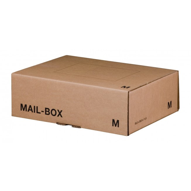 Mail-Box M für 331 × 241 × 104 mm in Braun