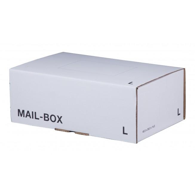 Mail-Box L für 395 × 248 × 141 mm in Weiß