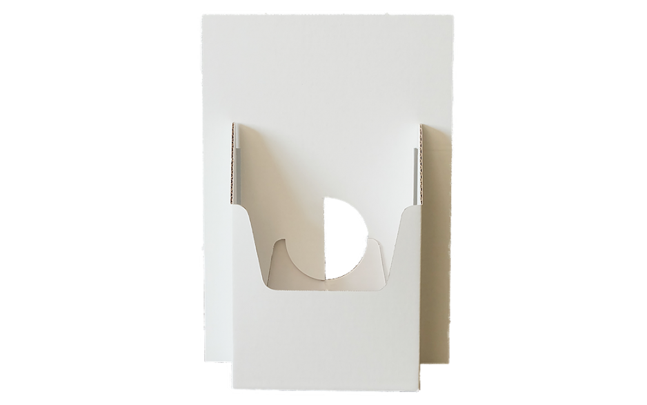 Flyerhalter DIN A5 - Display Frontalansicht