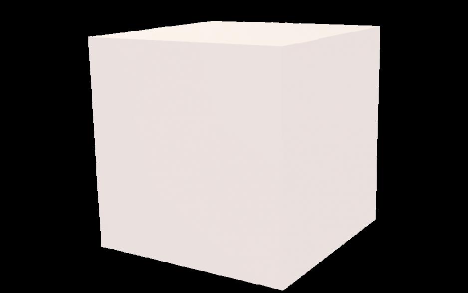 Dekowürfel weiß unbedruckt 600x600x600