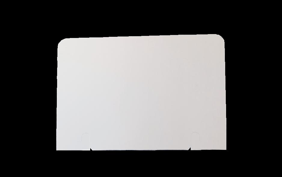 Topschild 590 x 400 rechteckig beidseitig