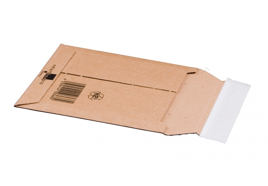 Versandtasche aus Wellpappe, CD, 145 × 190 × 25 mm
