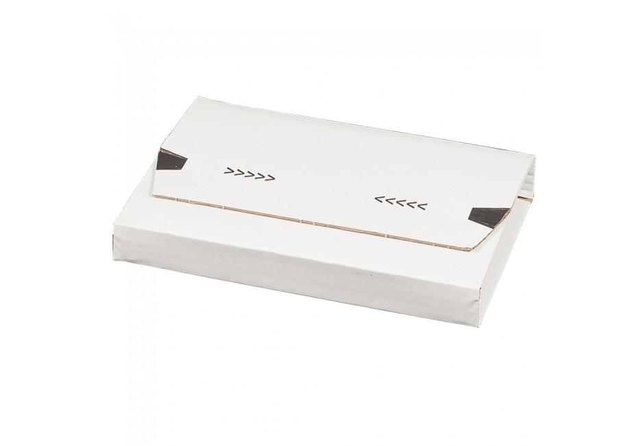 Universalverpackung weiß, A5+, 249 × 165 × 60 mm