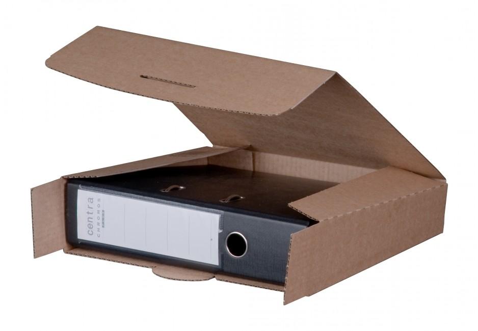 Ordner-Versandbox für 1 Ordner 80 mm