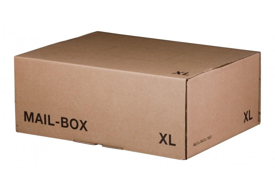 Mail-Box XL für 460 × 333 × 174 mm in Braun