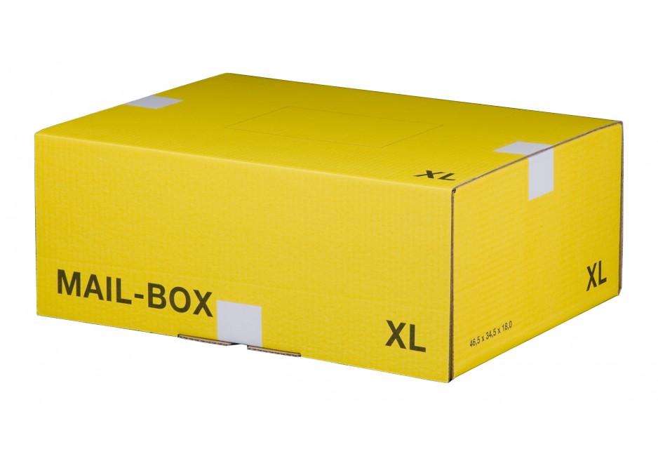 Mail-Box XL für 460 × 333 × 174 mm in Gelb