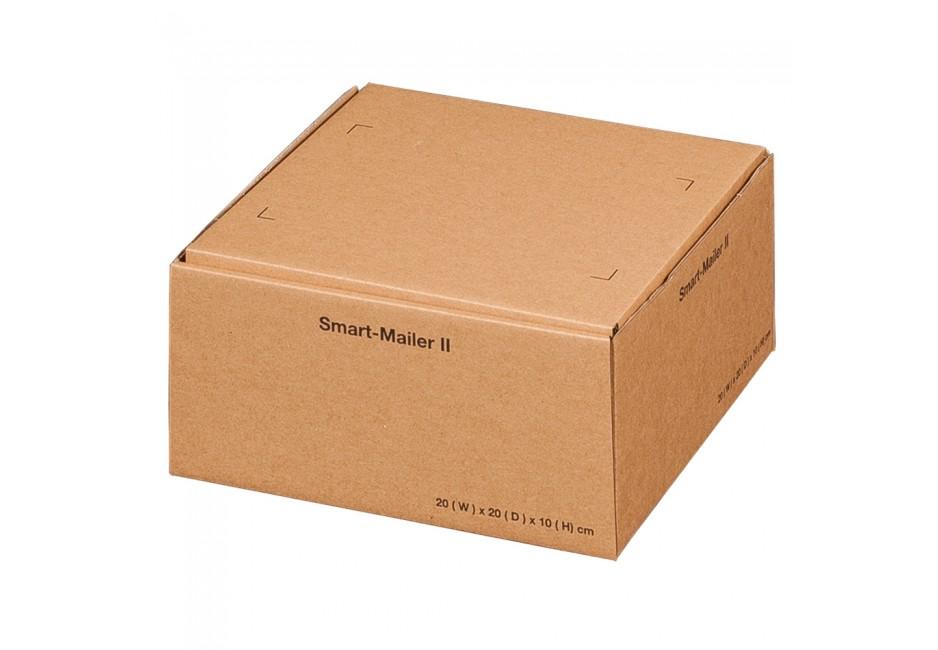 Smart-Mailer II für 200 × 200 × 100 mm, braun
