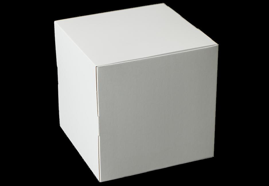 Dekowürfel weiß unbedruckt 300x300x300