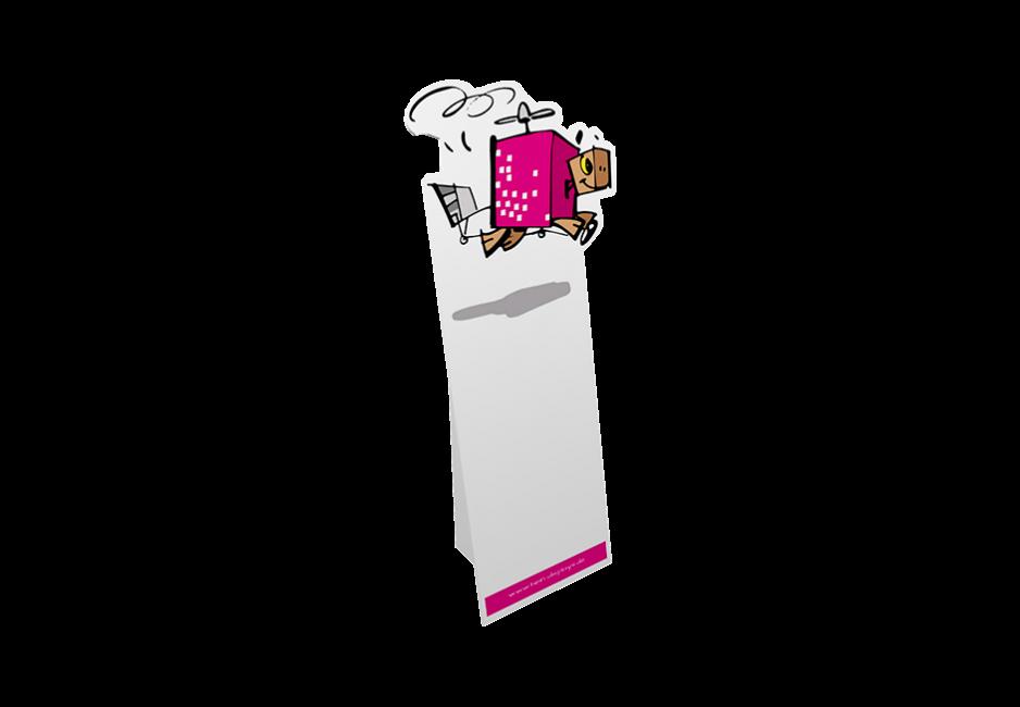 Pappfigur MINI 0,55x1,25 m