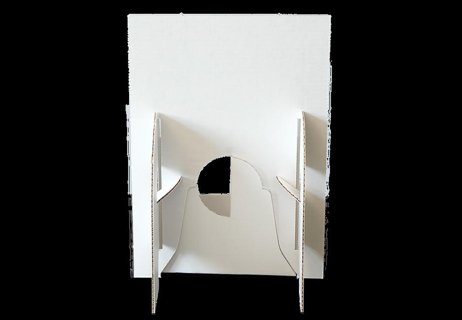 Flyerhalter DIN A5 - Display Rückansicht