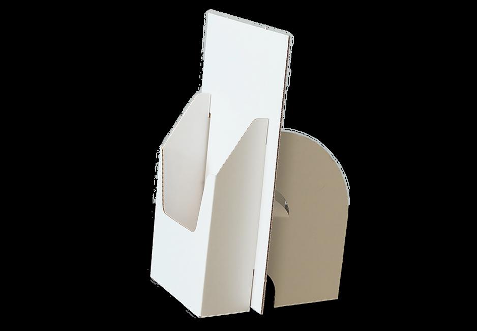 Flyerhalter DIN A5 - Display Seitenansicht