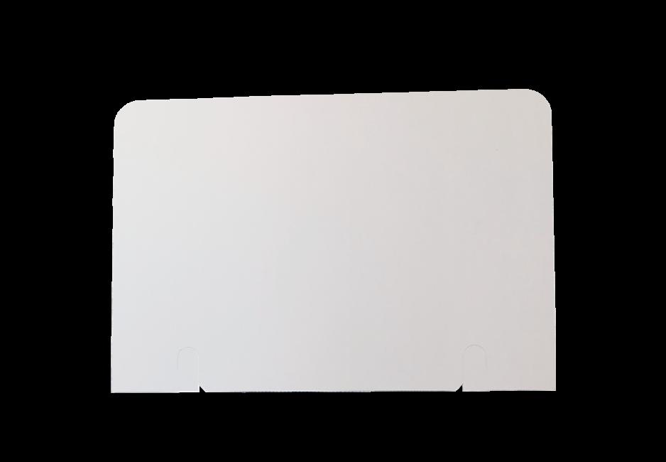 Topschild 590 x 400 rechteckig einseitig