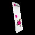 Pappaufsteller MAXI 0,75x1,85 m mit Dispenser hoch