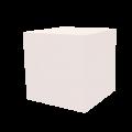 Dekowürfel weiß unbedruckt 400x400x400