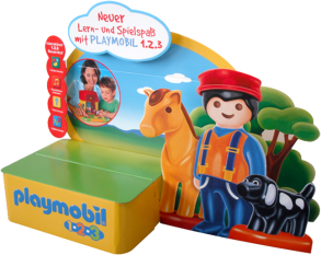 Thekenaufsteller Playmobil