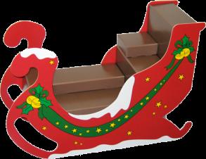 Weihnachts-Verkaufsinsel