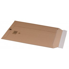 Versandtasche aus Wellpappe, B4+, 285 × 397 × 50 mm
