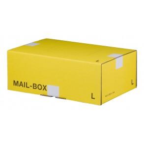 Mail-Box L für 395 × 248 × 141 mm in Gelb