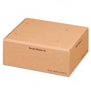 Smart-Mailer III für 100 × 200 × 250 mm, braun