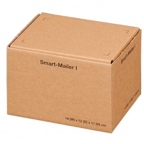 Smart-Mailer I für 160 × 120 × 110 mm, braun