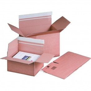Versandkarton Automatikboden 400 × 260 × 260 mm
