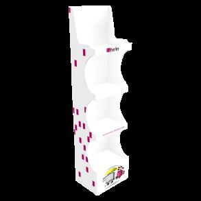 EasyUp-Regal mit 4 Fachböden 400x300x1560 mm