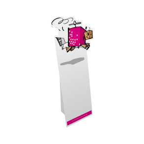 Pappfigur MINI 0,55×1,25 m