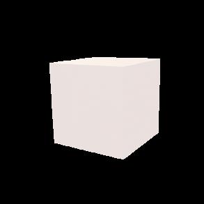 Dekowürfel weiß unbedruckt 200×200×200