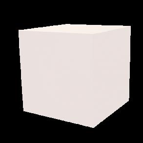 Dekowürfel weiß unbedruckt 450×450×450