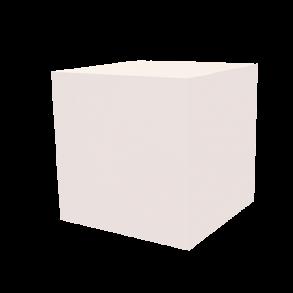 Dekowürfel weiß unbedruckt 400×400×400