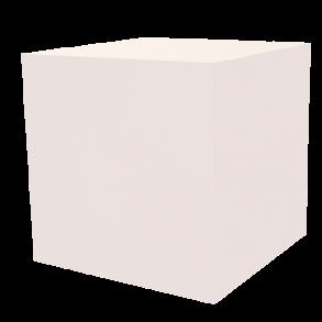 Dekowürfel weiß unbedruckt 500×500×500
