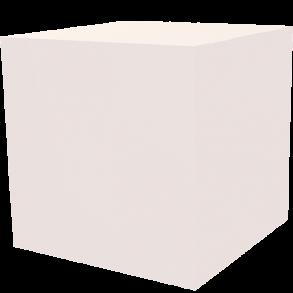 Dekowürfel weiß unbedruckt 600×600×600