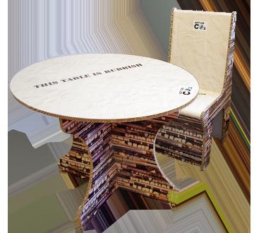 Messe event themenwelten hein pos displays - Stuhl aus pappe ...